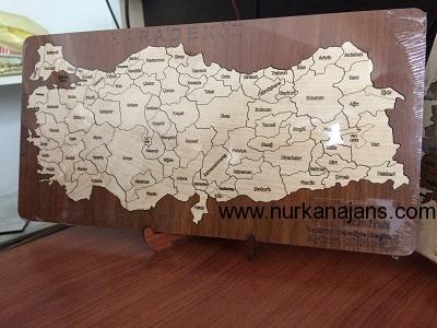 Ahşap Puzzle