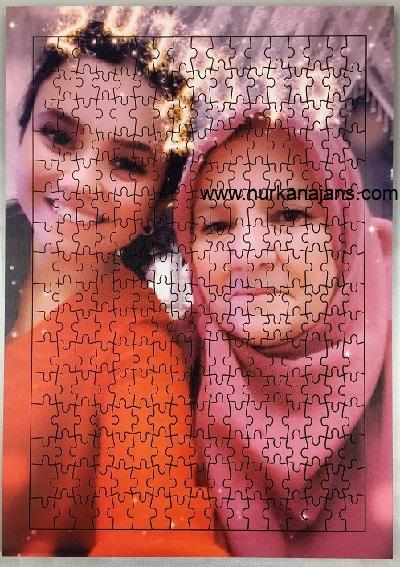 1000 Parça Ahşap Puzzle