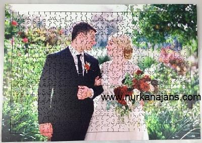500 Parça Ahşap Puzzle